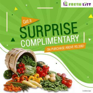 FreshList Online Grocery Store